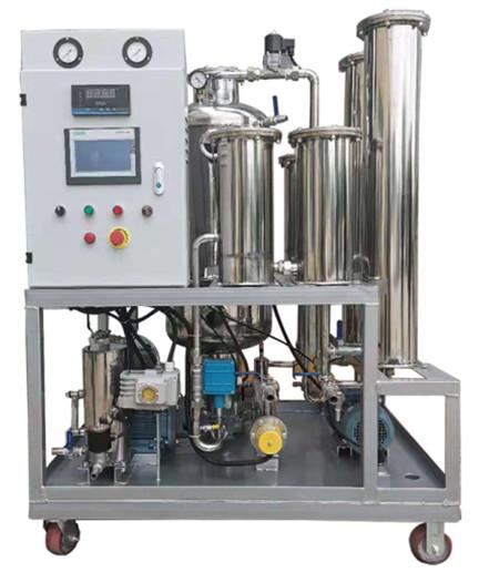 LK磷酸酯抗燃油专用滤油机
