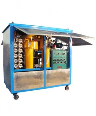 高效双极真空滤油机